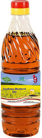 99Auth 500 mL Chemical FREE Unrefined Unfiltered Pure Natural Organic  Genuine Mustard Oil.