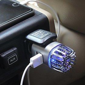 Car Air Purifier  Dual USB Charger