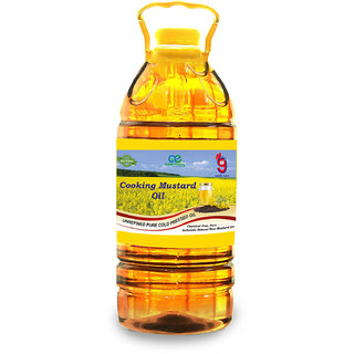 99Auth 2 Ltr Adulteration Free Cold Pressed Mustard Oil. Absolutely No mixing,  Natural Organic