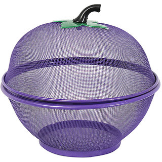 Vaskut Multipurpose Metal Artificial Art and Craft Fruits Storage Metal Bucket (size-26.5cm)