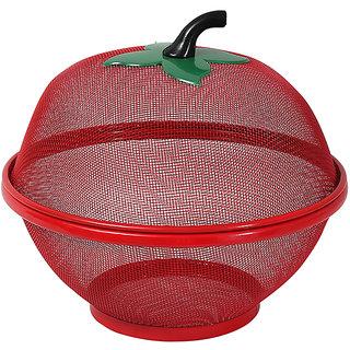 Vaskut Multipurpose Metal Artificial Art and Craft Fruits Storage Metal Bucket (size-24cm)