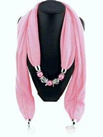 Elegant necklace scarf for women