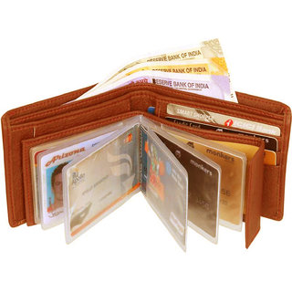 Genuine Wallet 9 ATM Card Holder with Low Price warranty (E4) (Synthetic leather/Rexine)