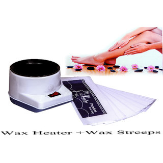 Electric Wax Heater Auto Cut OFF + Wax Streeps