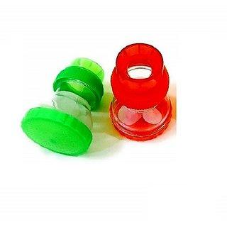 PBROS 2 Pieces Kitchen and Bathroom Water Tap Sprinkler Plastic Shower Head - Set of 2