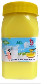 99Auth  400 GRAMS Organic Pure Healthy Desi Cow GHEE. No Mixing No dilution. Chemical Free Ghee