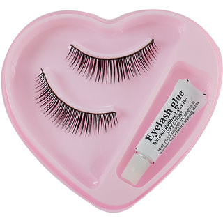 Assorted False Eyelash With Gum no-002