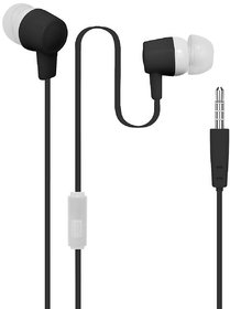 Digimate Daily Use In The Ear Wired Earbud Foldable/Collapsible Earphones With Mic