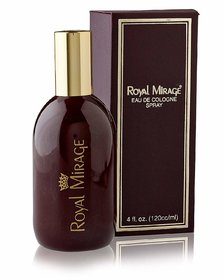 Unisex Classic Red Perfume (Eaux-De-Cologne)  120 ml Pack of 1 By Royal Mirage