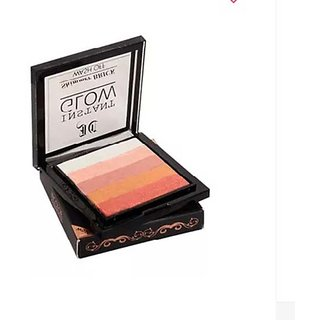 Instant Glow Makeup Highlighter Shimmer Brick-07 With 1 Makeup Brush