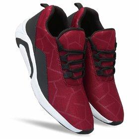 Mr Cobbler Men Red Sport Shoes