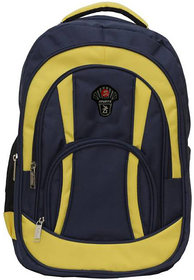 Strong Yellow-Black School Bag for Boys  Girls