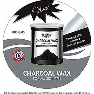 Beeone Charcoal Hot Wax 800gm