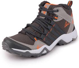 Lancer Men's Grey Orange Running Shoes