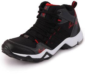 Lancer Men's Black Red Running Shoes