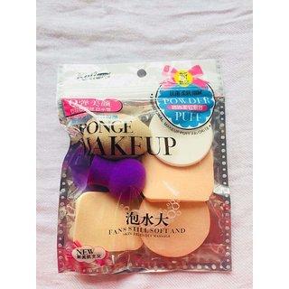 Kushahu Sponge Makeup 6 In 1 Beauty Blender Multicolor