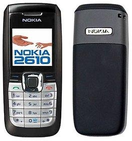 Refurbished Nokia 2610 With 1 Year WarrantyBazaar warranty - BLACK