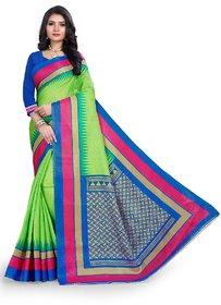 SVB Saree Green Colour Mysor silk saree