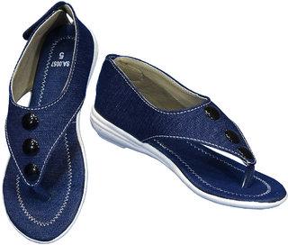 IndiForce Women Blue Sandal