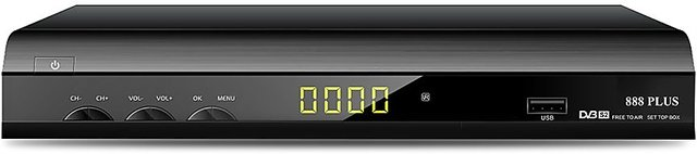 Wezone 888 Plus MPEG 4, Full HD 1080p, DVB S2 Free to Air Set Top Box