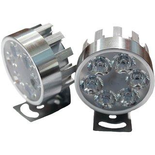 LED Fog Lamps Set for Yamaha bikes/scooty by Poshauto