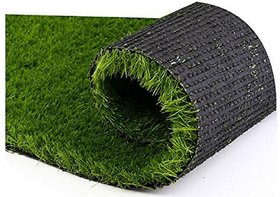 HomeStore-YEP Polyester Grass Mat - 18x24, Green