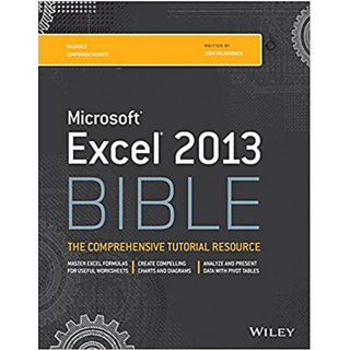 Microsoft Excel 2013 Bible  2013