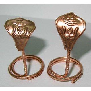 Copper Naag Nagin Pair for Pooja