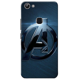 half off f4d83 33c36 Vivo Y83 Avengers Logo Mobile Back Cover Standard Quality