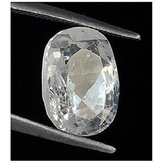 6.55 Carat Zircon Cubic Zirconia American Diamond Loose original Precious Gemstone certified by lab
