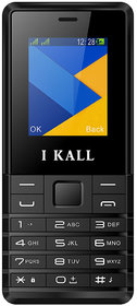 I Kall K22 1.8 Inch Display Dual Sim Feature Phone with 1 Year manufact Warranty (Blue)