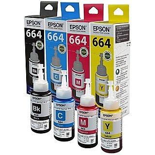 Original Epson Ink Bottles  Set of 4