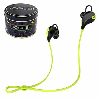 YezBay jogger Wireless Sports Headphones with Mic Sweat Proof Earbud Bluetooth Headset with Mic