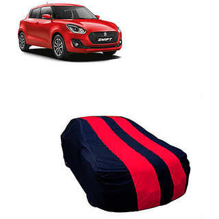 QualityBeast Extreme Car Body Cover for Maruti Swift New (MaroonBlue)