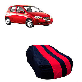 QualityBeast Extreme Car Body Cover for Chevrolet UVA (MaroonBlue)