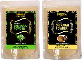 Donnara Organics 100% Pure Bhringraj Powder Face Pack