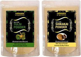 Donnara Organics 100% Pure Tulsi Powder  Face pack