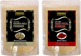 Donnara Organics 100% Pure Rose Petal Powder Face Pack