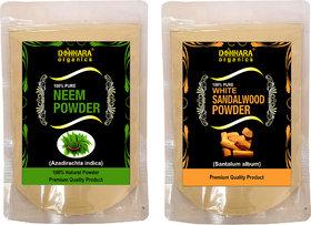 Donnara Organics 100% Pure Neem Powder Face Pack