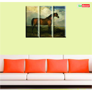 BROWN HORSE SET OF 3