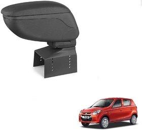 Auto Addict Car Armrest Console Black Color For Maruti Suzuki Alto 800