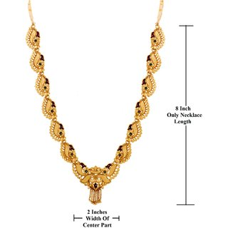 a5119a3bf GoldNera Ethnic Traditional Gold Plated Fashion Jewelry ONLY Necklace With Enamel  Beauty For Women/Girls