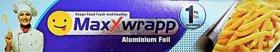 maxx wrap aluminium foil 1kg