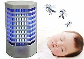 AABHA Electronic Mosquito and Insect Killer Cum Night Lamp Pack of 2 Electric Insect Killer  (Fly Swatter)