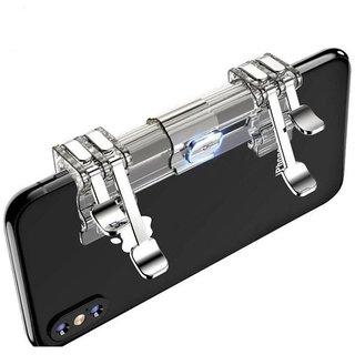 rmendous K9 Pubg Sensitive Shoot/aim Buttons L1 R1 Trigger With 3 in 1 Mobile Grip Handle Extended Gamepad Joystick