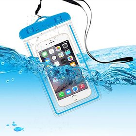 DS Universal Waterproof underwater mobile pouch bag Cover - Assorted color pack of f1