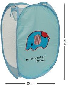Winner Full Size Rectangular Foldable Laundry Basket - Laundry Bag for Organizing Cloths Pack of 1 (Random Color)
