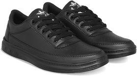 Lejano Men's/Boys Casual Black Sneaker Shoes