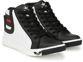 S37 Men's/Boys Casual Black Sneaker Shoes