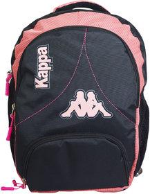 KAPPA Laptop Backpack For Men  Women (Black)